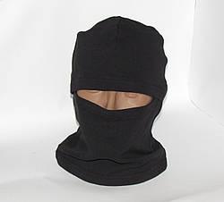 Балаклава детская камуфляжная цвет черный, фото 3