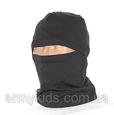 Балаклава детская камуфляжная цвет черный, фото 2