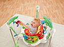 """Детское кресло прыгунки Fisher Price """"Тропический лес, Rainforest"""", фото 7"""