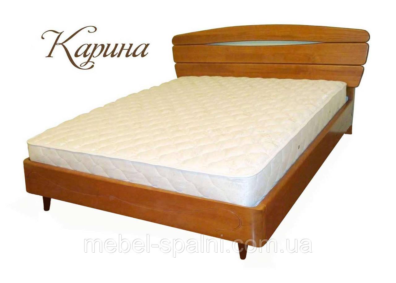 """Ліжко в Харкові дерев'яна полуторне """"Каріна"""" kr.kn2.1"""