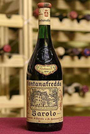 Вино урожаю 1949 року Barolo Італія, фото 2