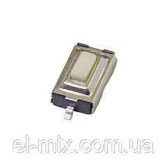 Кнопка тактовая smd  6x3.5 2pin h2.5 (шток 0.8) HQ  Китай