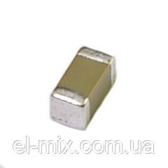 Конденсатор керам. smd 1206 1.0µF 50V  X7R  ±20%, Китай  / продажа кратно 10шт