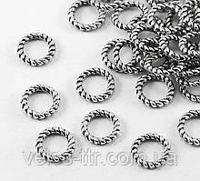 Конектор кільце Вите сталь 9,5х6 мм
