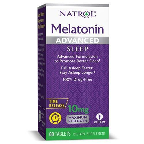 Мелатонин Natrol Melatonin Advanced Sleep 10 mg 100 tabs
