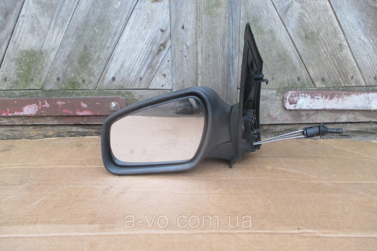 Зеркало левое механическое для Ford Focus 2 2003-2008