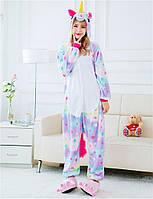 Пижама Кигуруми звездный единорог M (рост 155-165 см.)