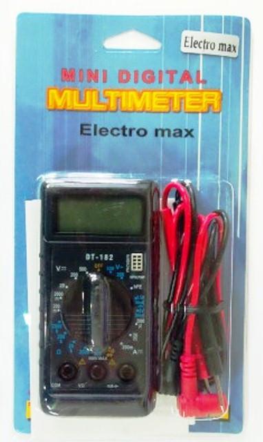 Компактный цифровой мультиметр DT-182