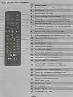 Пульт от тюнера эфирного цифрового телевидения Т2 TRIMAX. Модель TR2015HD