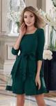 Шикарное платье,изумруд (Украина 44-46рр)
