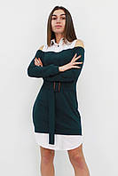 S | Комбіноване жіноче плаття Lilit, зелений