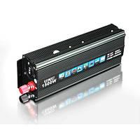 Преобразователь авто инвертор UKC 24V-220V 1500W