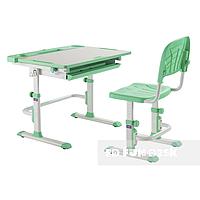Комплект парта + стул трансформеры Cubby DISA GREEN, фото 1