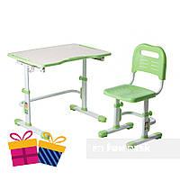 Комплект парта + стул трансформеры Vivo II Green FUNDESK, фото 1