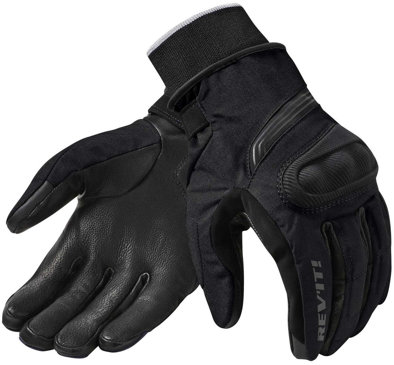 Перчатки Rev'it Hydra 2 H2O текстиль черные, XL
