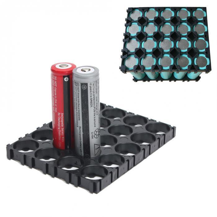 Тримач акумуляторів 18650, 4х5 осередків