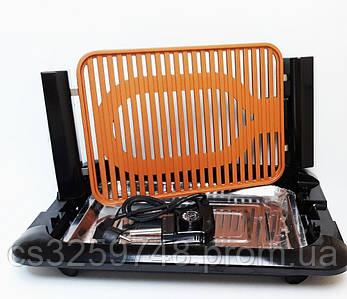 Электрический противень  для гриля JE-S37 3000W (V-212), электро гриль бездымный противень, фото 2