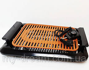 Электрический противень  для гриля JE-S37 3000W (V-212), электро гриль бездымный противень, фото 3