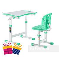 Комплект парта + стул трансформеры Omino Green FunDesk, фото 1