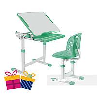 Комплект парта + стул трансформеры Piccolino III Green FunDesk, фото 1