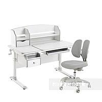 Комплект стол-трансформер  Sognare Grey + кресло Primo Grey FunDesk, фото 1