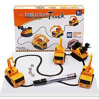 Интерактивная игрушка машинка Inductive truck