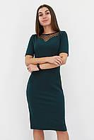 S, M, L, XL / Жіноче вечірнє плаття з сіточкою Tiana, зелений
