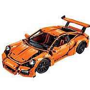 "Конструктор Bela 10570 (аналог Lego Technic 42056) ""Porsche 911 GT3 RS"" 2704 детали, фото 2"
