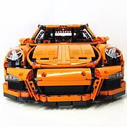 "Конструктор Bela 10570 (аналог Lego Technic 42056) ""Porsche 911 GT3 RS"" 2704 детали, фото 3"