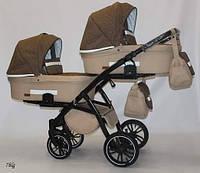 Детская коляска для двойни 2 в 1 Bexa Natigo Frido Duo NF 07