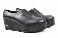 Туфли комфорт Guero натуральная кожа, цвет черный