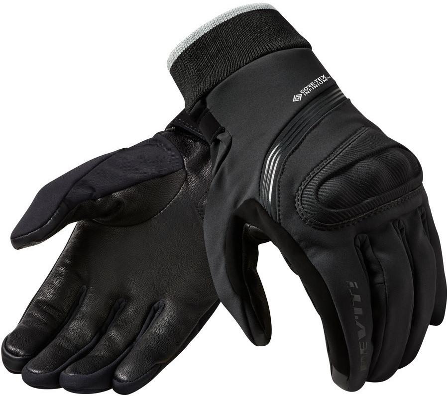 Перчатки Rev'it Crater 2 WSP кожа/текстиль черные, XL