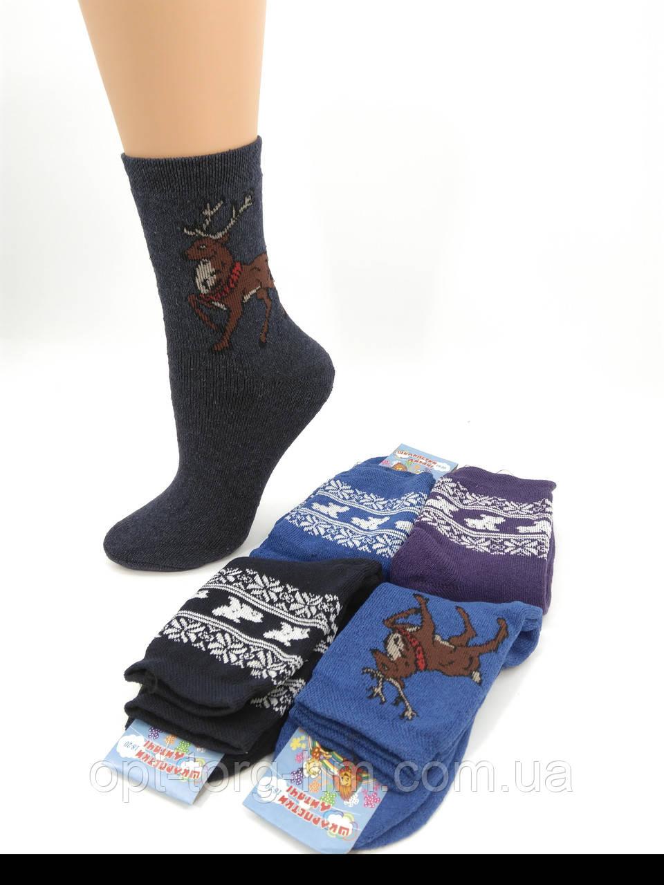 Махровые детские носки Ассорти 18-20 (28-32 обувь)