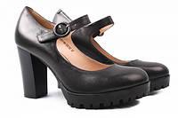 Туфли на каблуке Lady Marcia натуральная кожа, цвет черный