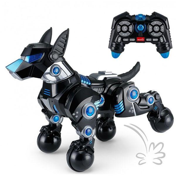 Собака 77960(Black) р/у, 30см, муз/звук