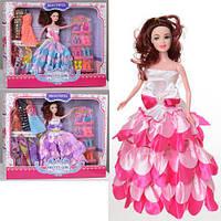 Кукла с нарядом и аксессуарами H189B 28 см платья сумочки обувь