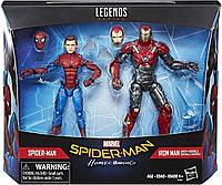 Hasbro Marvel Legends Людина Павук та Залізна людина, фото 1
