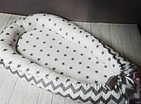 Гнездышко кокон позиционер для новорожденного BabyNest