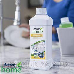 Концентрированная жидкость для мытья посуды DISH DROPS , 1л