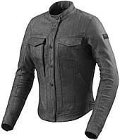 Куртка Rev'it Logan Ladies текстиль черная, XS