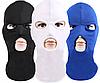 Балаклава теплая с прорезями для глаз и рта, подшлемник ( белая , черная , синяя )
