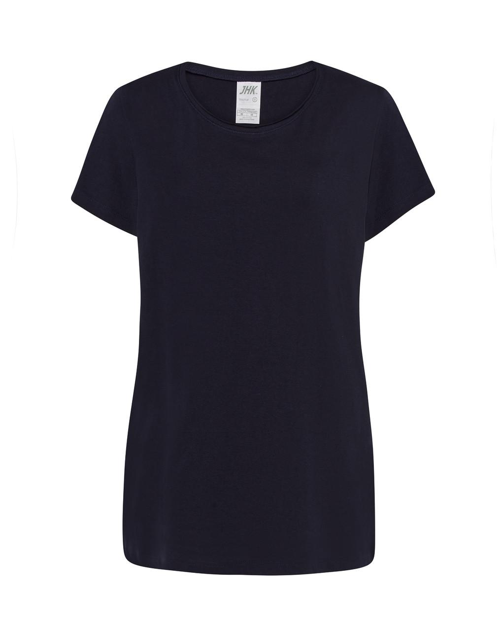 Женская футболка JHK PALMA темно-синий (NY)