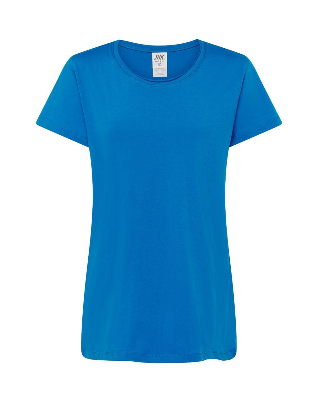 Женская футболка JHK PALMA светло-синий (AQ)