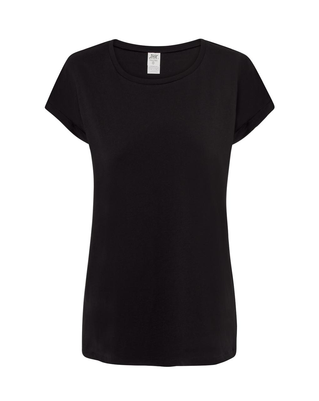 Женская футболка JHK TOBAGO цвет черный (BK)
