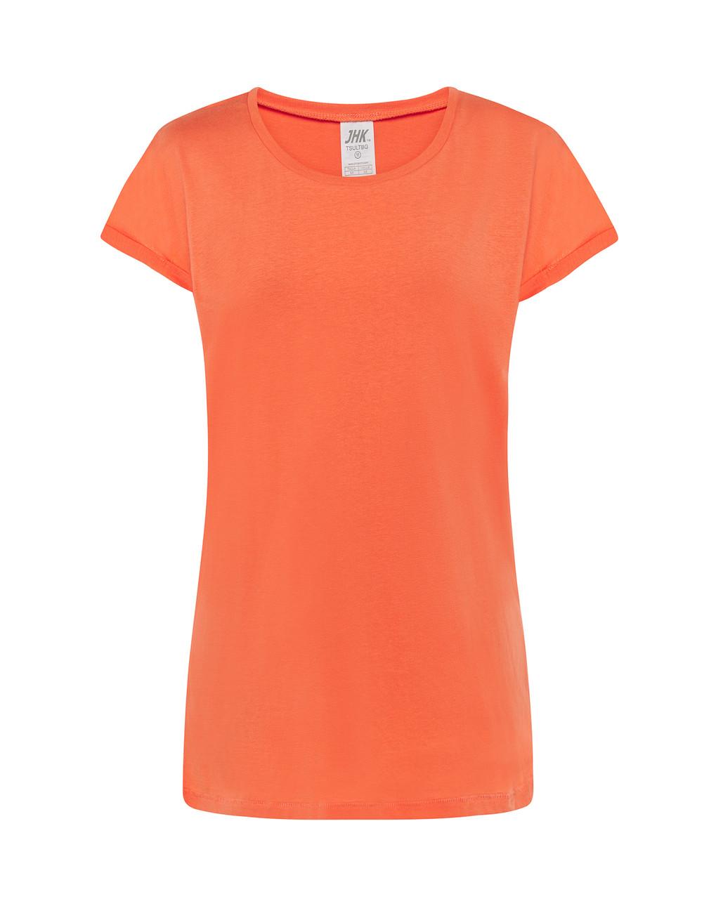 Женская футболка JHK TOBAGO цвет коралловый (CO)