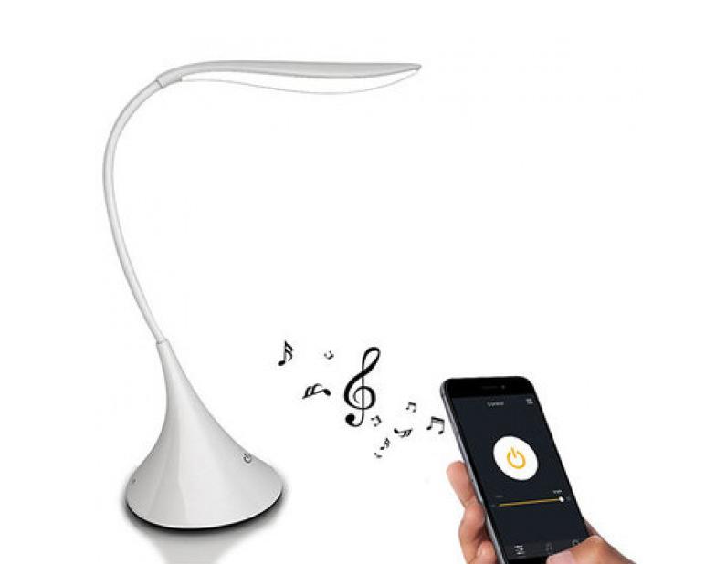 Настольная Смарт Лампа с Bluetooth динамиком зарядка USB