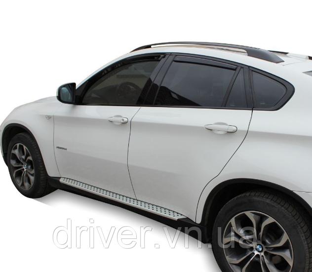 Дефлектори вікон вставні BMW X6 E71 2008 -> 5D