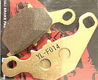 Тормозные колодки Suzuki Address V 110 куб. передние, дисковый тормоз