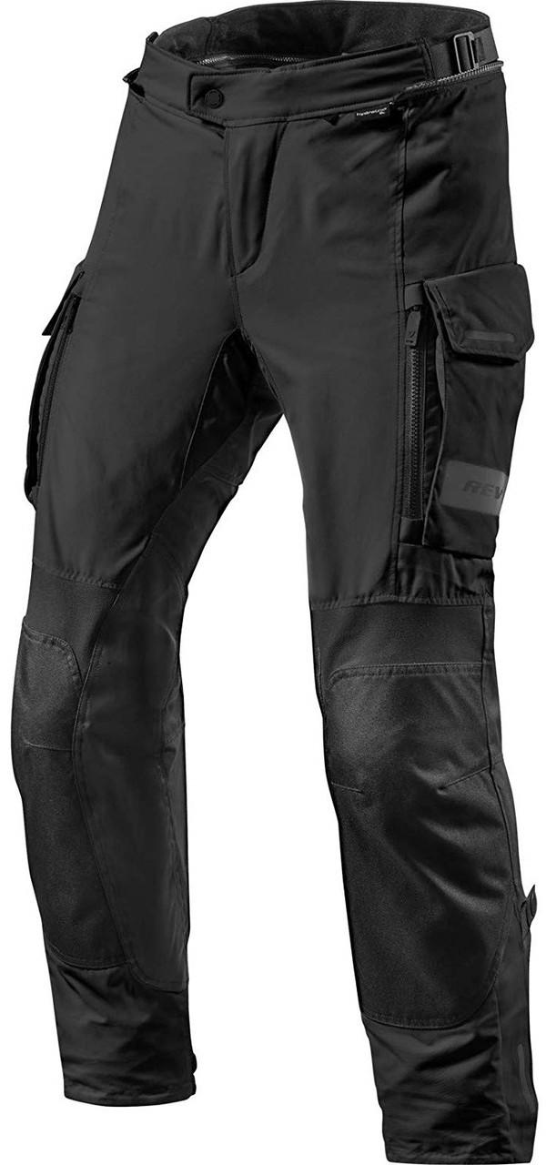 Брюки Rev'it Offtrack текстиль черные Short, XXL