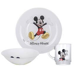 Disney Colors Mickey Набір для дітей 3 пр Luminarc L2124